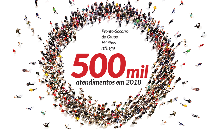 500 mil atendimentos